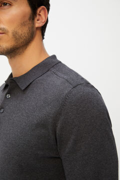 Cortefiel Men's polo shirt jumper Pistachiogreen