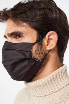 Cortefiel Máscara higiénica reutilizável Preto