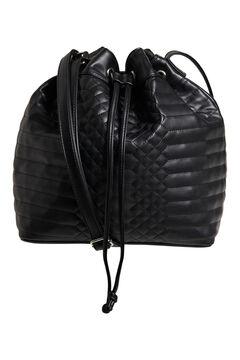 Cortefiel Bucket bag Black