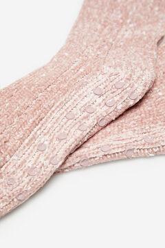 Cortefiel Non-slip socks Pink