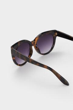 Cortefiel Gafas de sol tortoise Marrón