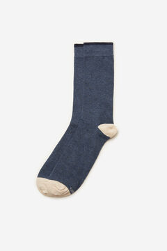 Cortefiel Plain sports socks Blue jeans