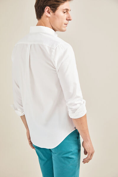 Cortefiel - Tailored-fit Oxford shirt - 4