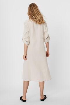 Cortefiel Shirt dress Stone