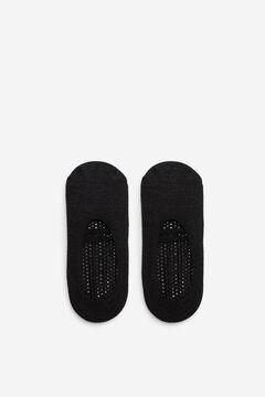 Cortefiel Piilates pinkie socks Black