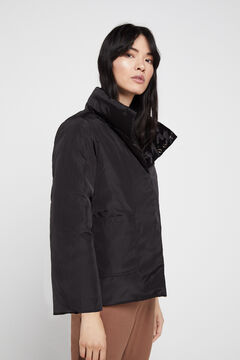 Cortefiel Eco-friendly reversible jacket Black