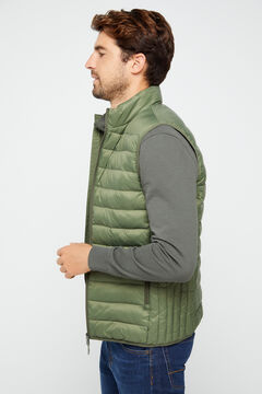 Cortefiel Ultralight thermolite gilet Green