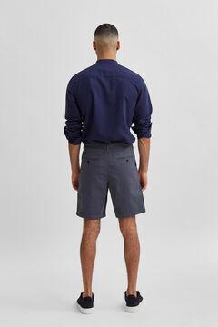 Cortefiel Flex Bermuda shorts Royal blue