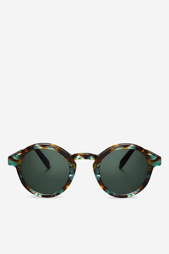 Cortefiel CREAM/LEO TORTOISE DALSTON  sunglasses Dark brown