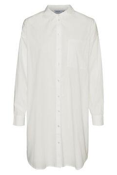 Cortefiel Camisa oversize Curve Branco