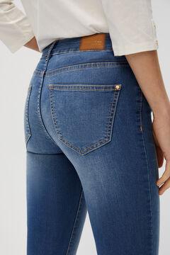 Cortefiel Sensational minimiser jeans Turquoise