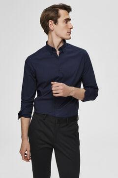 Cortefiel Slim fit men's shirt Navy
