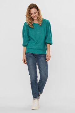 Cortefiel Jersey-knit jumper Burgundy