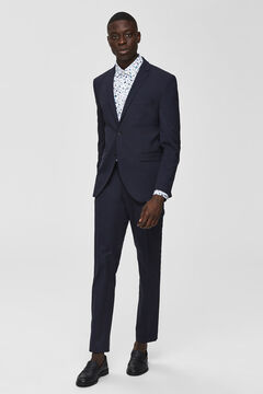 Cortefiel Slim fit blazer Navy