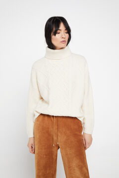 Cortefiel Cropped trousers Mole