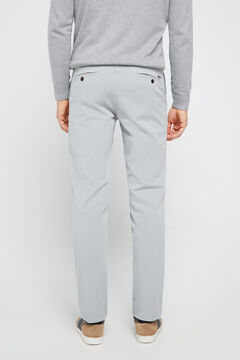 Cortefiel Essential regular fit lightweight chinos Gray