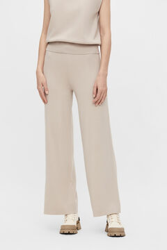 Cortefiel Stretch trousers Gray