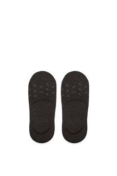 Cortefiel Plain ankle socks with Coolmax® Dark brown