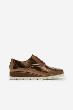 Cortefiel Ultralight sole Blucher shoe Brown