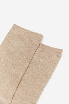 Cortefiel Textured socks Stone
