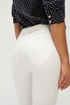 Cortefiel Sensational minimiser jeans White