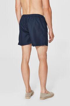 Cortefiel Plain swim shorts Royal blue