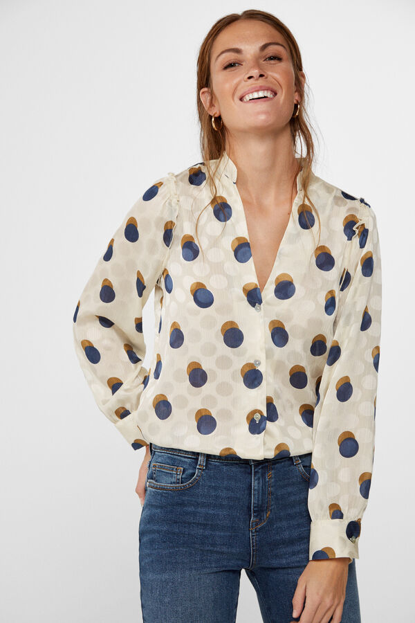 cupón doble numerosos en variedad diseño de moda Blusas y camisas de mujer | Cortefiel