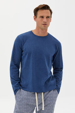 Cortefiel Jersey-knit and cotton pyjamas Bluejeans