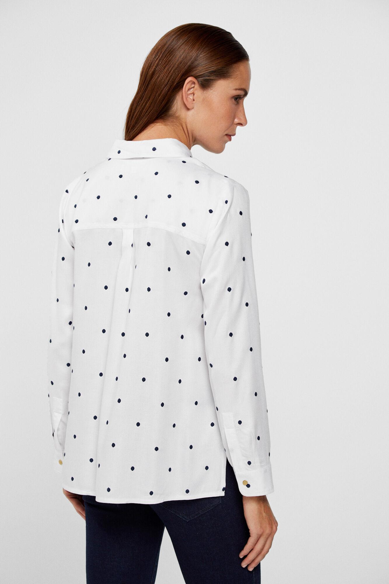 exquisite style purchase original meticulous dyeing processes Fluid viscose blouse   Blouses   Cortefiel Man & Woman