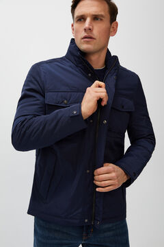 Cortefiel Short jacket four pockets Navy