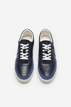 Cortefiel Lace-up sneaker Blue jeans