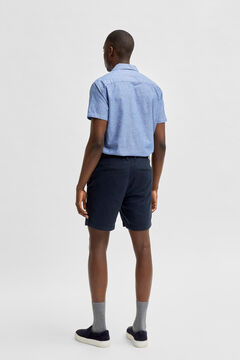 Cortefiel Chino Bermuda shorts Royal blue