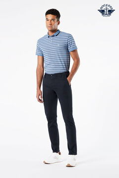 Cortefiel Supreme Flex™ skinny Dockers® trousers with Maximum Comfort fabric Navy