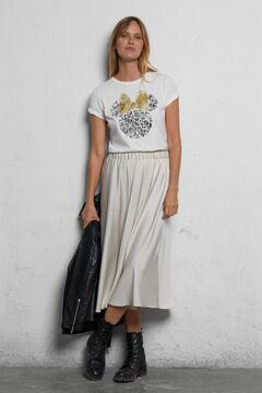 Cortefiel Organic cotton Minnie Mouse T-shirt White