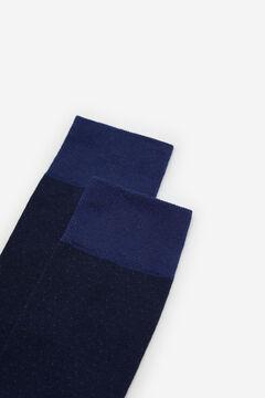 Cortefiel Calcetín lunares EcoCoolmax® Azul