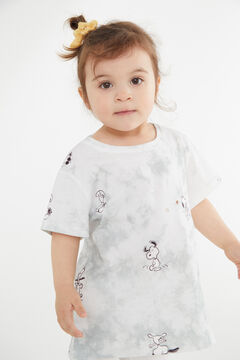 Cortefiel Girls' Snoopy t-shirt Gray