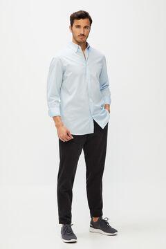 Cortefiel Men's dress shirt Royal blue