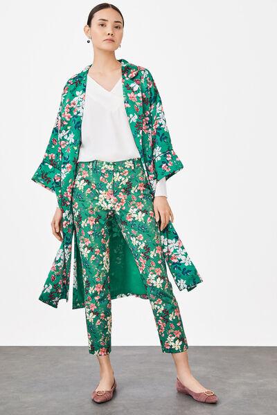 Cortefiel - Printed trousers - 1