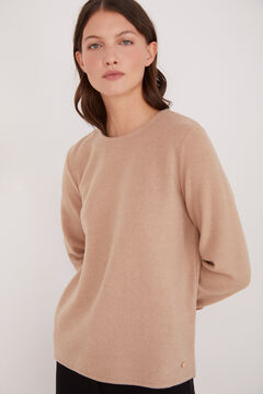 Cortefiel Soft feel crew neck t-shirt Mole