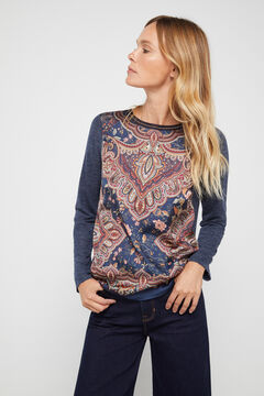 Cortefiel Combined top Navy