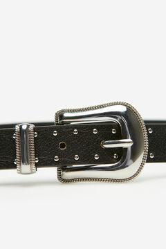 Cortefiel Cowboy belt Black