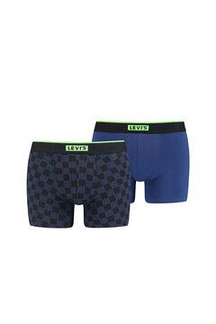 Cortefiel Pack de 2 boxers com logo Levi's® desportivo Azul
