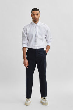 Cortefiel Slim fit trousers Royal blue