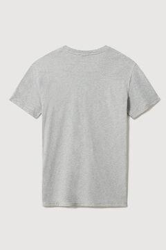 Cortefiel Napapijri SALIS C SS short-sleeved T-shirt Gray