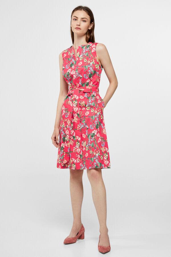 124ea2d114 Cortefiel Shift dress Printed