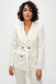Cortefiel Crossover blazer White