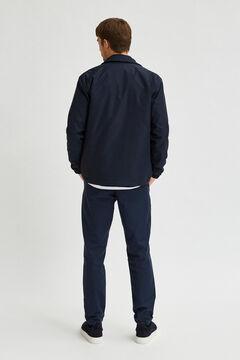 Cortefiel Pantalón chino slim fit Azul