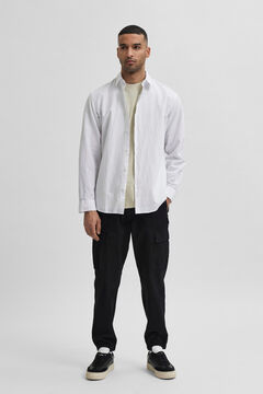 Cortefiel Slim fit shirt White