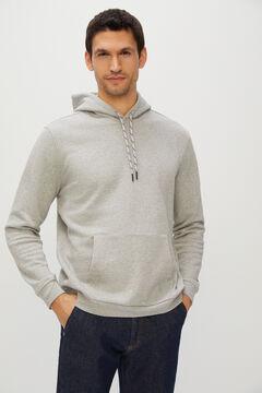Cortefiel Hooded sweatshirt Turquoise