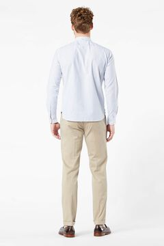 Cortefiel Slim fit Dockers® Oxford shirt with Supreme Flex™ White